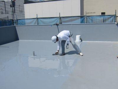 ビル 屋上からの雨漏り対策