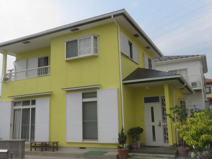 一般住宅の外壁塗装リフォーム
