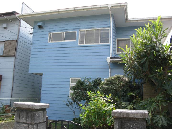 一般住宅の外壁塗装工事
