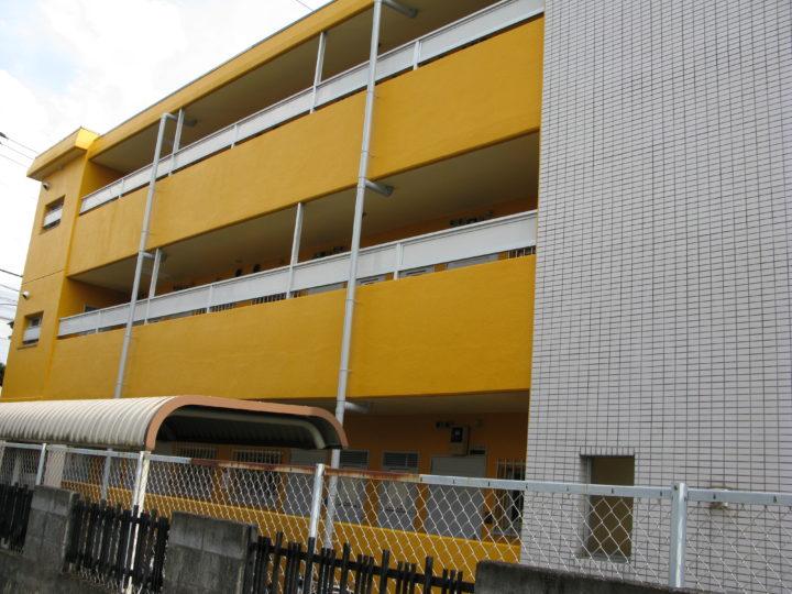 集合住宅の外壁塗装、屋上防水工事