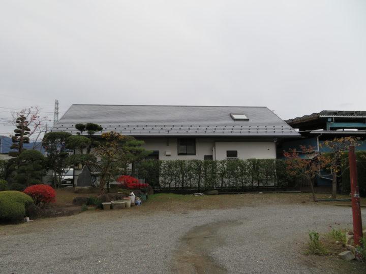 一般住宅の屋根・外壁塗装工事