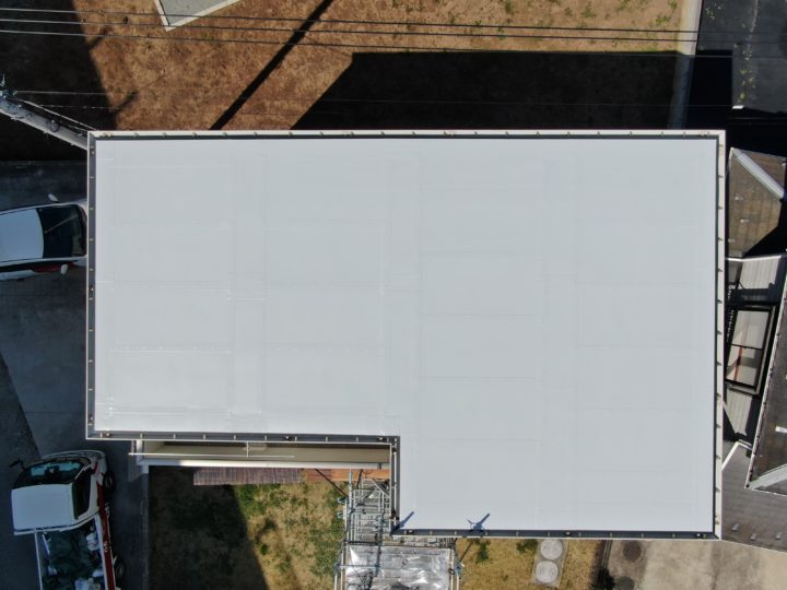 一般住宅の屋根塗装工事