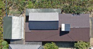 農作業所の屋根及び付帯部塗装工事