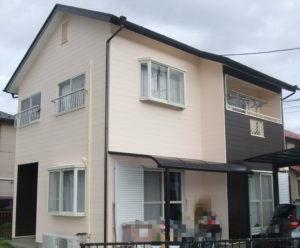 一般住宅の屋根・外壁塗装及び雨樋取替え工事