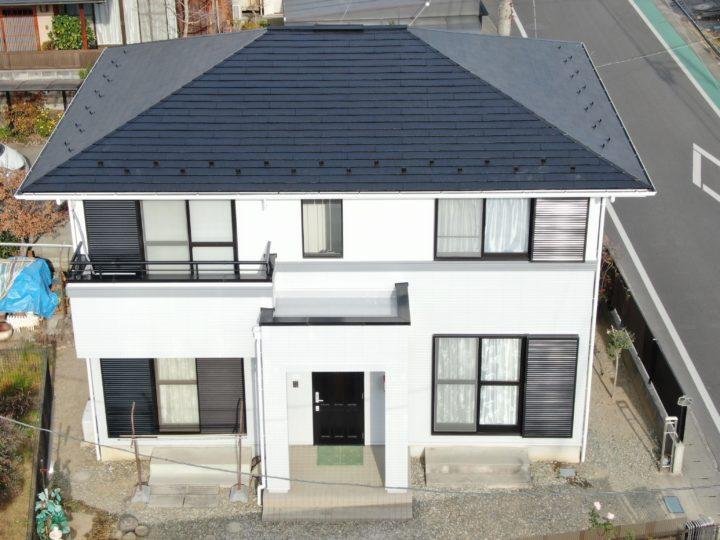 一般住宅の屋根・外壁塗装及びベランダ防水工事