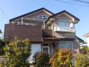 一般住宅の屋根・外壁塗装及びベランダ防水・屋根改修工事