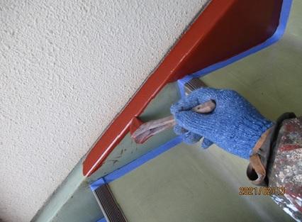階段ササラ
