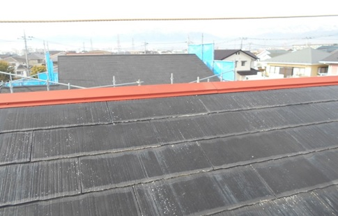 屋根:板金部